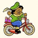 Piet op de fiets